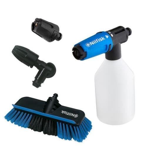 Nilfisk-Blue Line fahrzeugreinigungs-set schaumsprüher cepillo lavado de vehículos