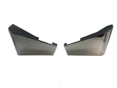 Seitendeckel rechts Cover right Honda VT 600C Shadow PC21 schwarz  NEU Orig