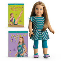 American Girl Of The Year 2012 Mckenna Doll + 2 Books Fast Insured Ship