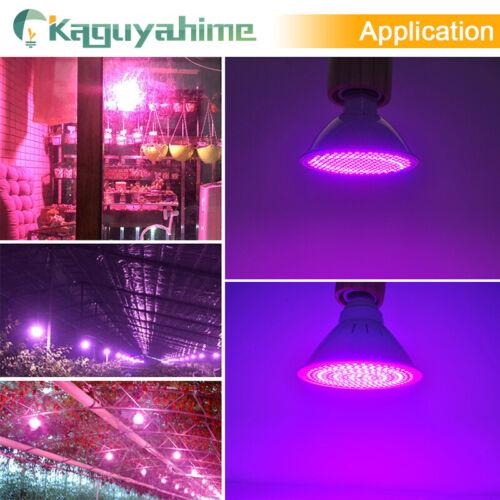 Kaguyahime LED crecer luz E27 Lampada LED lámpara de espectro completo 4 W 30 W