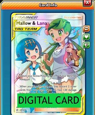 2x Phione 57//236 Cosmic Eclipse PTCGO Online Digital Card
