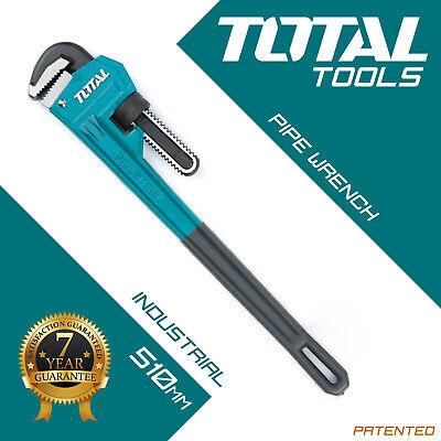 Stilson Llave de pipa plomeros 510mm pesados Mono Tubo Llave-herramientas total