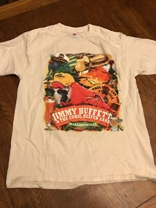 Incredible Details About Jimmy Buffett The Coral Reefer Band Margaritaville 2004 Tour Shirt Size L Download Free Architecture Designs Estepponolmadebymaigaardcom