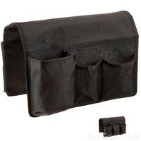 Remote Control Organizer Holder Caddy Arm Chair Sofa Couch Tv Storage Pocket