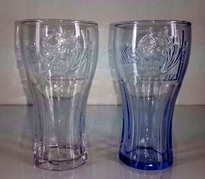 2pcs Thailand-Drinking-Glass-Collectible-Scarce I want to have a pretty little.
