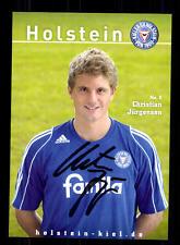 Christian Jürgensen Autogrammkarte Holstein Kiel 2007-08 Original Sign+A 131797