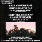 Leif Segerstam - String Quartet No.6 Rituals in La Woodwind Quintet Audio CD