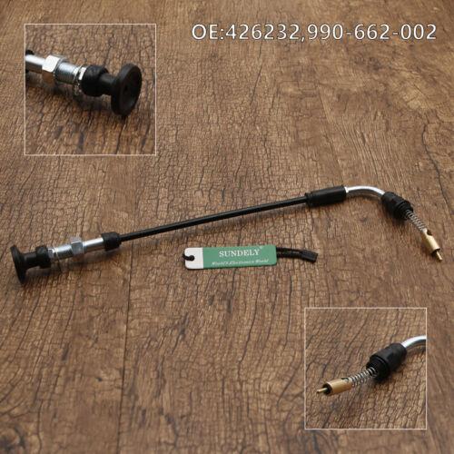 Carb Choke Cable For Mikuni Carburetor HSR Harley Davidson HD HSR42 HSR45 DG Hot