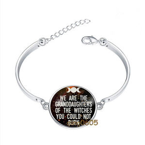 We-Are-The-Granddaughters-Bracelet-Photo-Glass-Cabochon-Tibet-silver-Bracelets
