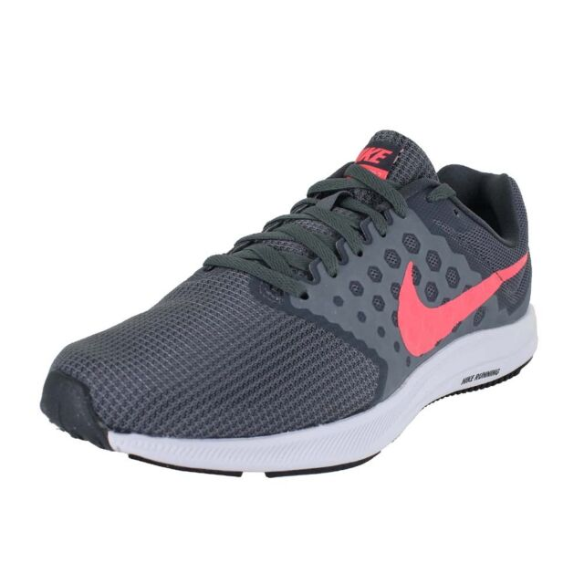 46f2f8cc486 NIKE WMNS DOWNSHIFTER 7 WIDE GREY LAVA GREY WHT 881585 001 WOMENS US SIZES
