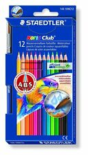12 X Staedtler Noris Club soluble en agua Lápices De Colores-anti-break conduce