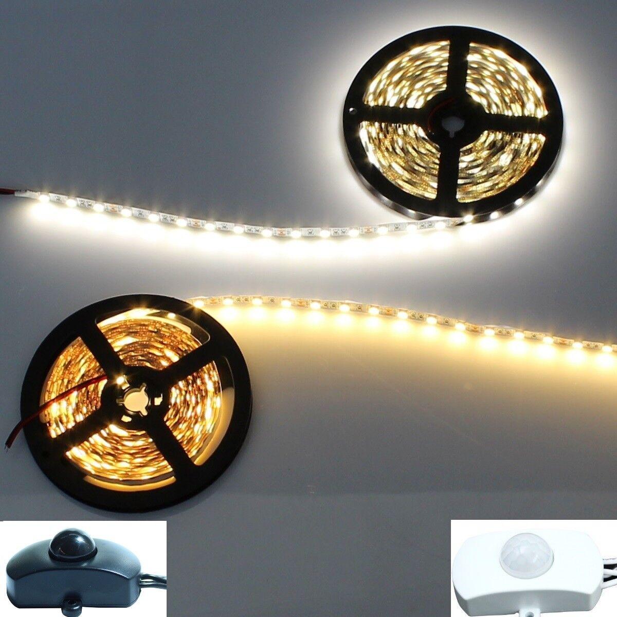 LED Stripe 2900K warmweiß 4000K kaltweiß Lichtleiste Streifen Bewegungsmelder  | Großhandel
