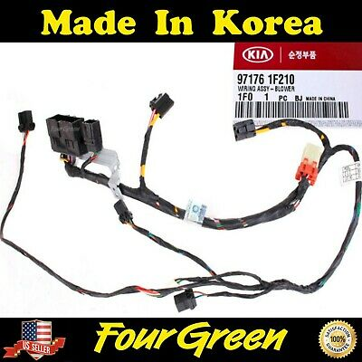 2005 kia sportage heater wiring blower harness wiring for kia 05 09 sportage ebay  blower harness wiring for kia 05 09