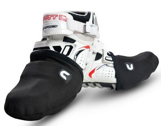 Racing Cycling Shoe Cover Bicycle Bike Windproof Protector Warmer Half Foot Case