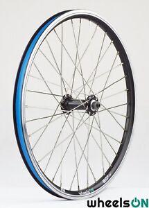 QR 20 inch wheelsON Front Wheel Rear Wheel 8//9 Spd Folding Bike Black Rim-Brakes