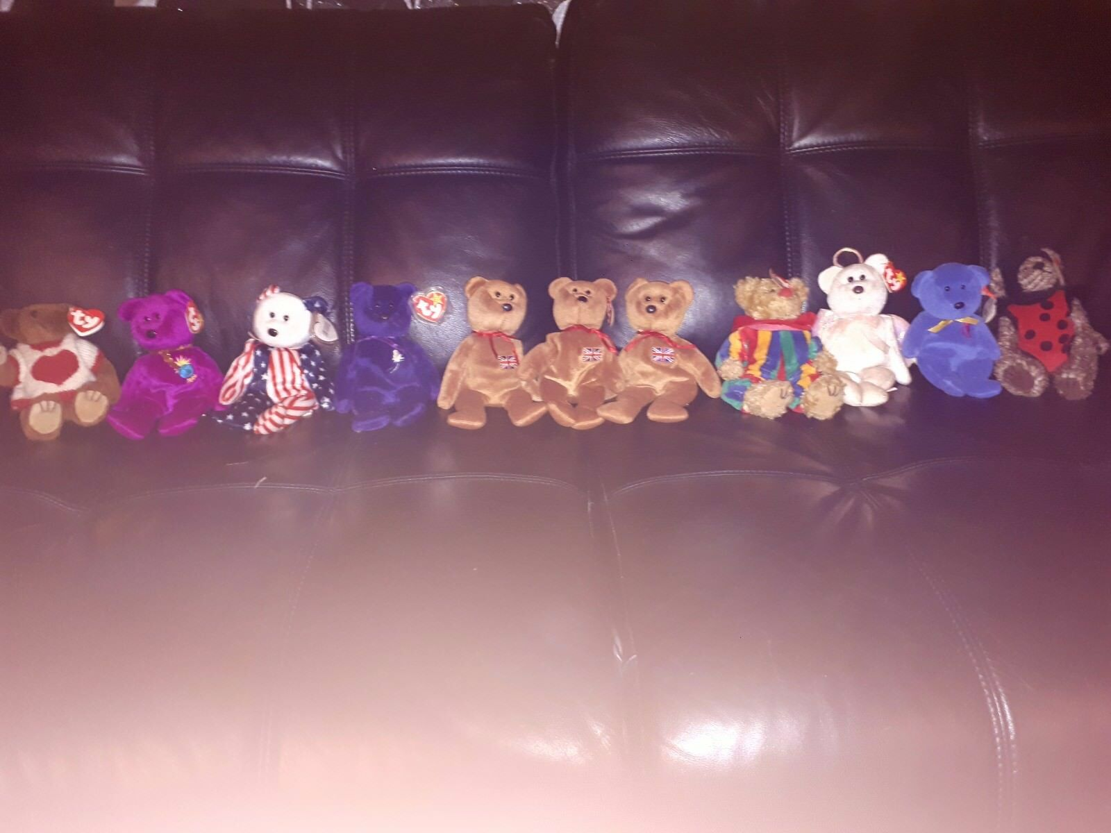 Ty beanie babies from around year 2000 princess