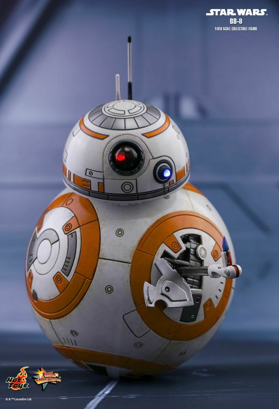 marca famosa Estrella Wars  The The The Last Jedi  BB-8 1 6th Escala Figura de Acción MMS440 (Hot Juguetes)  NEW