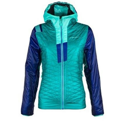 La Sportiva Femme Elysium Primaloft Veste (M) Émeraude   Iris   Bleu