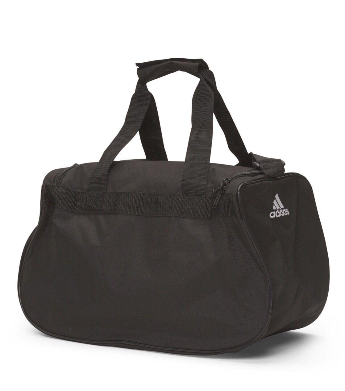 adidas Diablo Small Gym Sport Travel Duffel Bag - Black White for sale  online  bd55b0538fa04