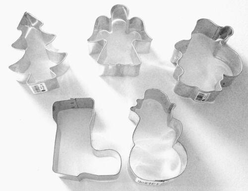 Ausstechformen Weihnachten 5tlg Set Ausstecher Plätzchenformen