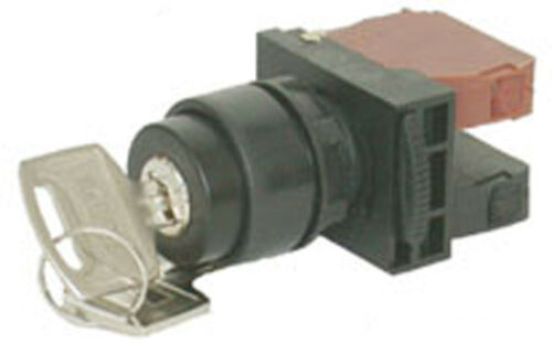 Spring Return Selector Switch 1a NHD NSS30-K110 Key 2 Position