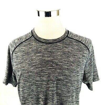 Gaiam Embrace Tech Stretch Dry Fit Raglan Henley Training Shirt Men S//M//L//XL NWT