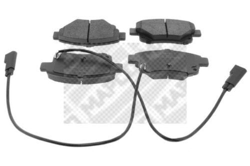Mapco Plaquettes De Freins Bremsbelagsatz plaquettes de frein arrière 6857