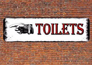 Cartelli Da Bagno : Insegna toilet donne & da uomo riposa camera bagno cartello wc ebay