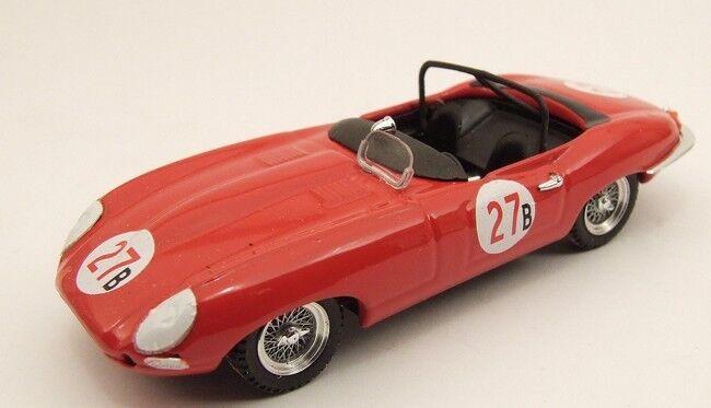 MODEL BEST 9353 - JAGUAR E SPIDER N 27 RIVERSIDE 1961 - 1/43