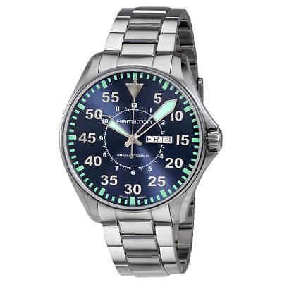 Hamilton Khaki Aviation Automatic Blue Dial Men's Watch H64715145