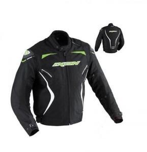 Blouson-textile-Ixon-Oxygen-HP-taille-L-coloris-noir-vert-blanc-100101023-Neuf
