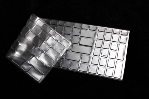 """Clear TPU Laptop Keyboard Protector Cover For 17.3"""" MSI GE72VR GT72VR GT73VR"""