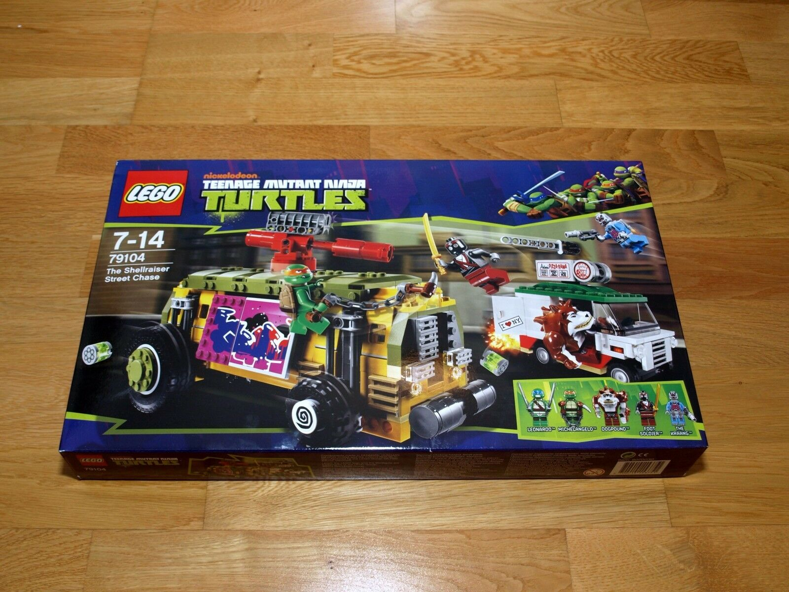 Lego TMNT – Shellraiser Street Chase Set 79104 - Retired BNISB
