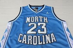 Michael Jordan UNC North Carolina Jersey #23 TarHeels Blue