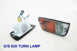 DATSUN J15 620 1500 UTE PICKUP TRUCK Front Bumper Turn Signal Parking Light PAIR