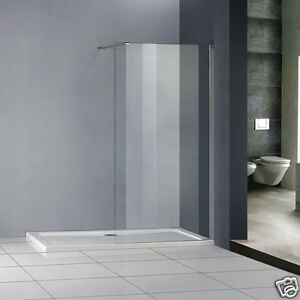 Luxury Shower Enclosure Wet Room Walk In Glass Screen Cubicle Panel