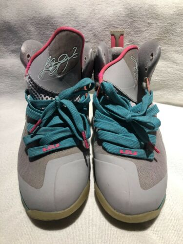 Nike LeBron 9 South Beach Size 5.5 Pre-owned No Bo
