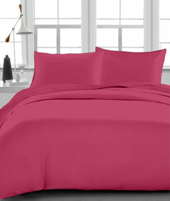 1000 Count Hot Pink Striped Color Sheet Set RV Camper /& BUNK All Bed Sizes