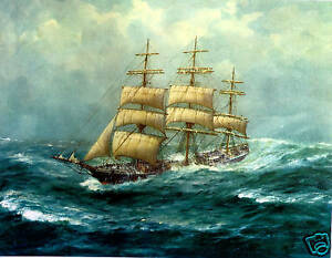 John-Allcot-Antiope-Sailing-Ships-From-The-Past-Sails-Ships