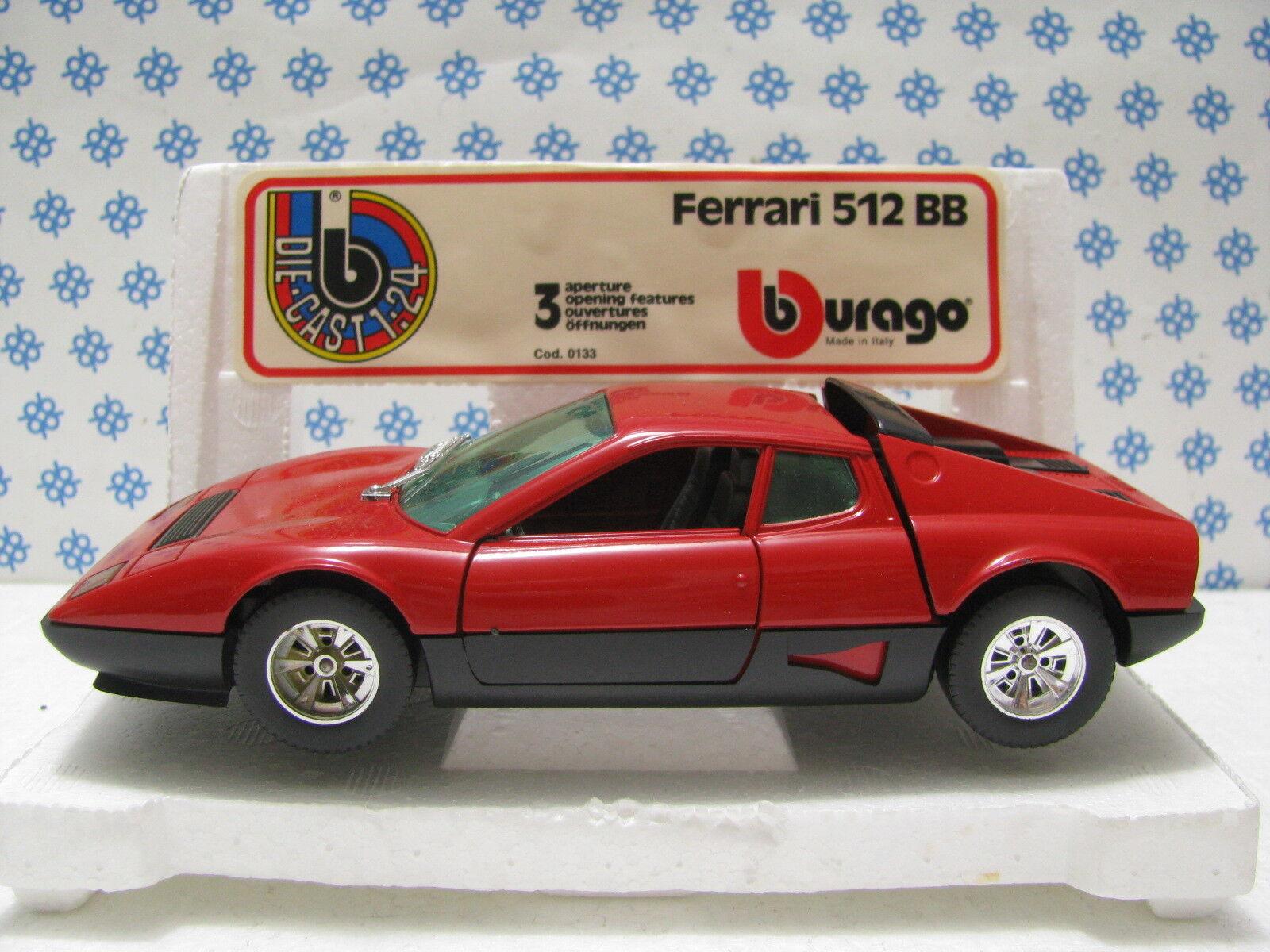 Ferrari 512 BB - 1 24 Bburago Hat 0133