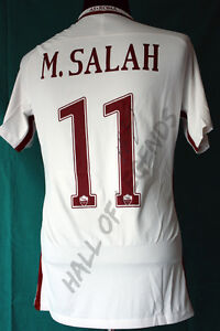 Maglia-Jersey-AS-Roma-16-17-SALAH-da-Magazzino-no-worn-Autografata-Europa-League