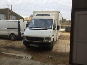 V/W LT 46 Ambulance 12 Months MOT Race transporter/camper conversion/mobile work