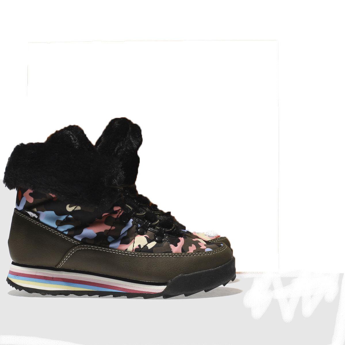 ROCKET DOG KHAKI ICEE CANDY CAMO TRAINER Stiefel Größe 5  | Viele Sorten