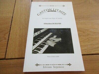Lorraine - Gaston Litaize Vosgien Aux Doigts De Lumiere Orgue Compositeur Vosges Verpakking Van Genomineerd Merk