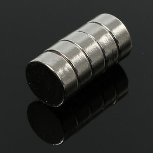 5PCS 5X20MM N50 SUPER STRONG ROUND DISC BLOCKS RARE EARTH NEODYMIUM MAGNETS POUR