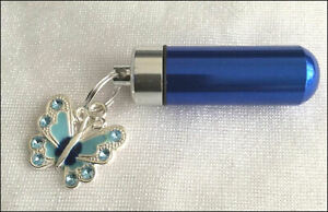 Cremation-Jewellery-Ashes-Urn-The-Blue-Butterfly-Keepsake-Memorial-Necklace
