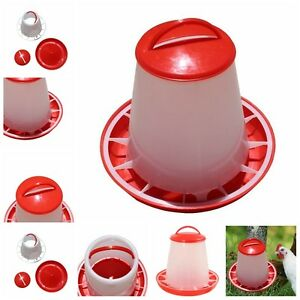 1-5kg-Plastic-Food-Seed-Automatic-Feeder-For-Chicken-Chick-Hen-Chook-PoultryMDLJ