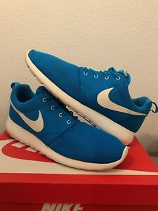 6a0cb45625f01 Image is loading Nike-Roshe-Run-Blue-Hero-Sail-511881-411-