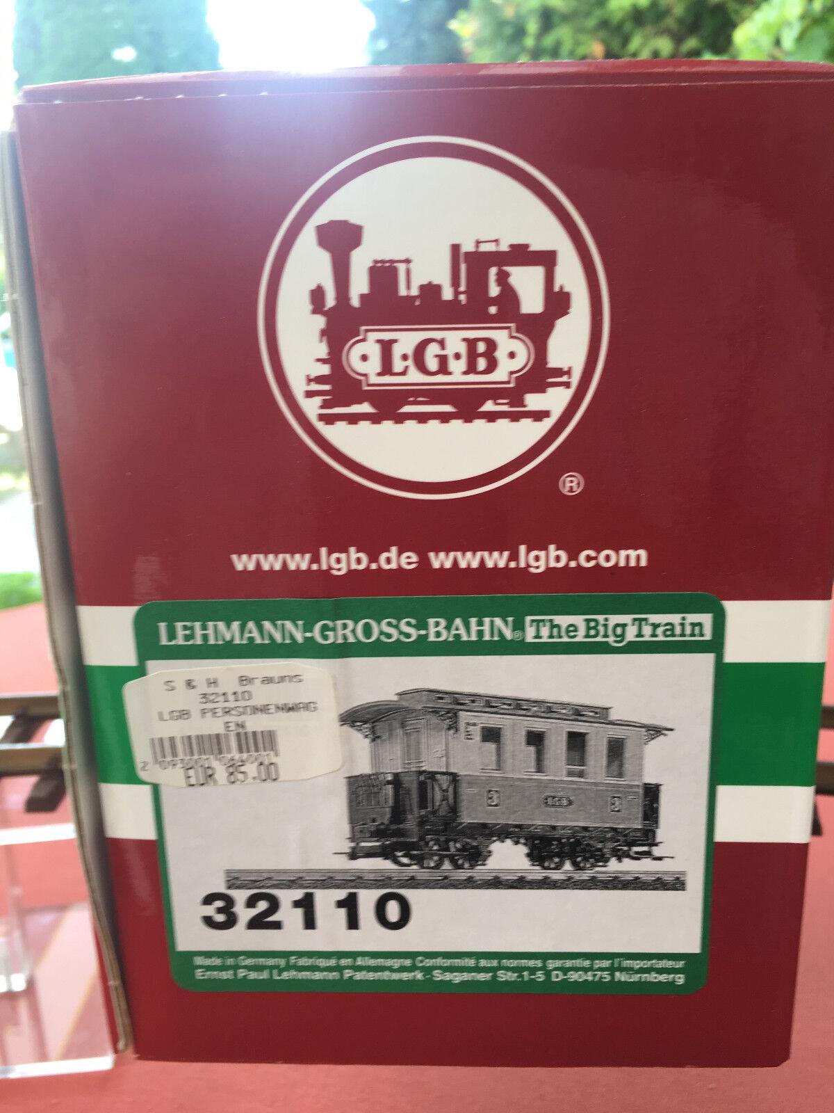 LGB 32110 32110 32110 Personenwagen 3. Kasse Orange  | Online Shop Europe  af6c02
