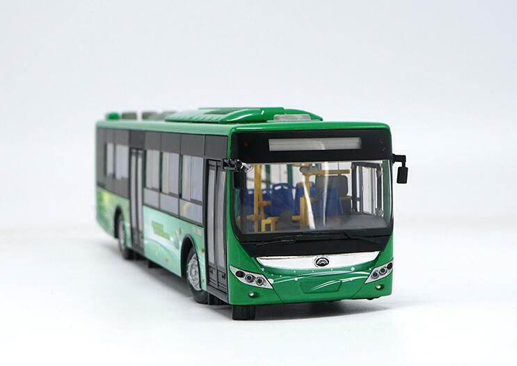 1 42 Zhengzhou Yutong Bus Original manufacturer Hybrid City bus alloy model